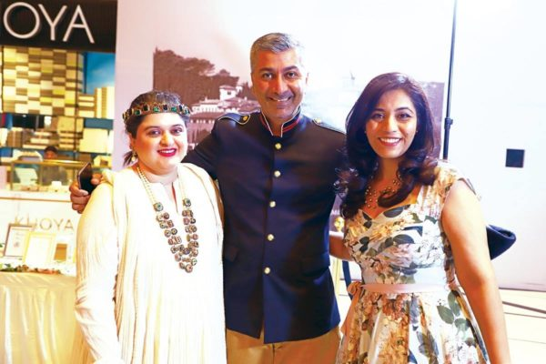 L to R Reshma Punj, Manu Mansheet and Sunanda Rao-Erdem