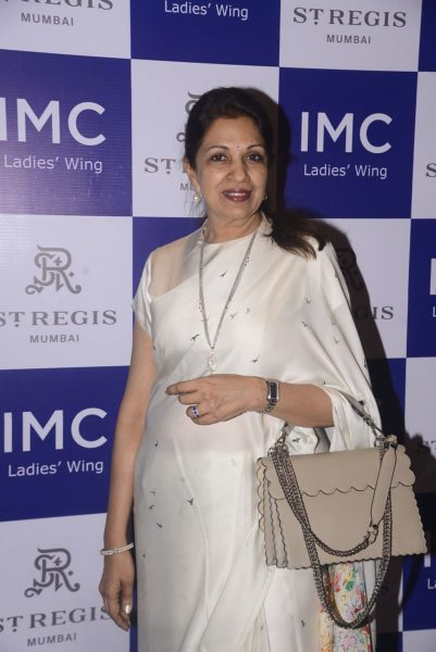 Mrs Nayantara Jain, President, The IMC Ladies_ Wing Chamber of Commerce and Industry