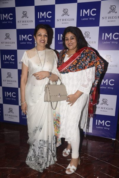 Mrs Nayantara Jain with Shreyasi Goenka