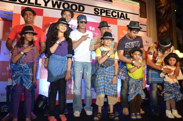 Shah Rukh Khan at a kids event