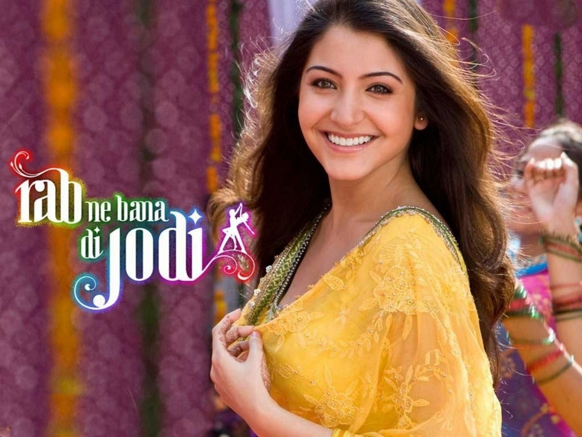 anushka sharma in rab ne bana di jodi – bold outline