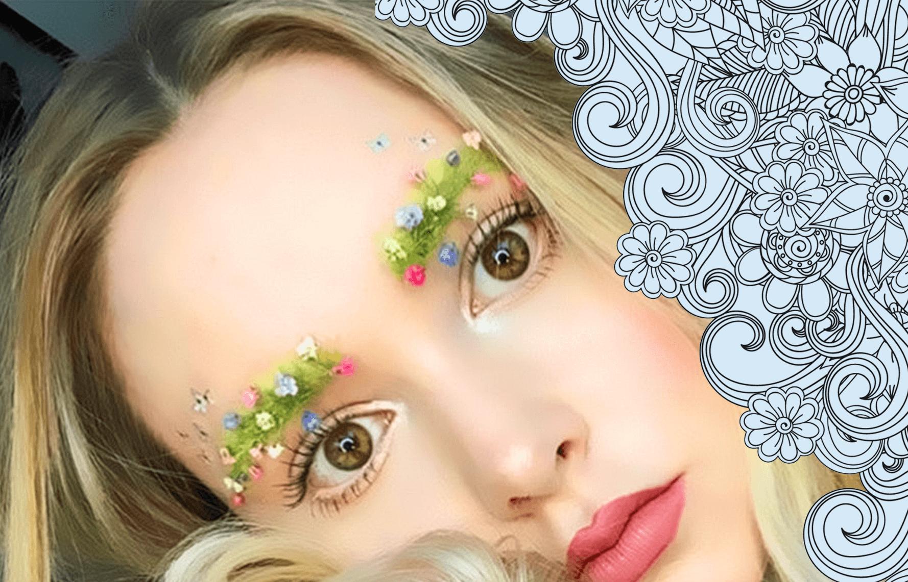 Garden eyebrow