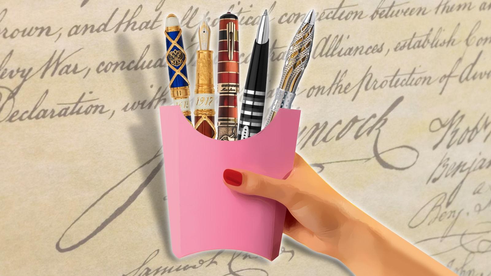 designer pen