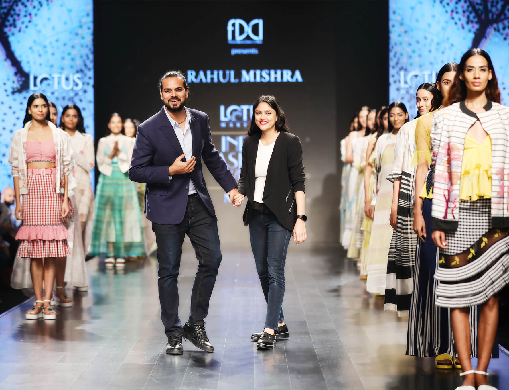 Designer Rahul and Divya Mishra