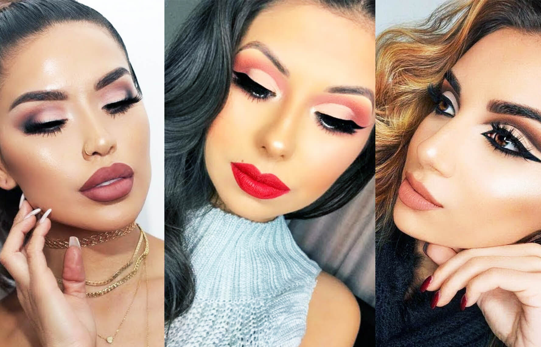 Cover fall makeup trend