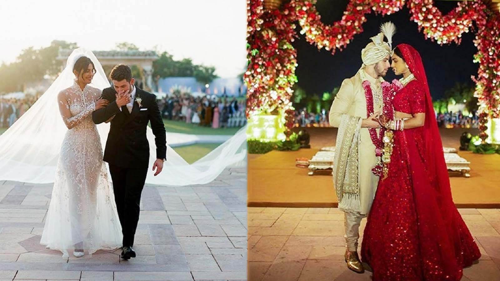 The Jaw Dropping Indo Western Wedding Of Priyanka And Nick,Summer Wedding Dresses 2020 Trends