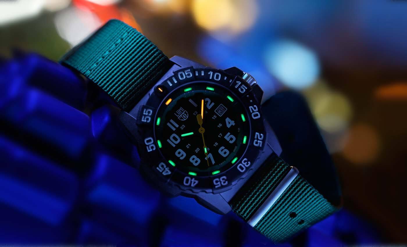 Luminox watches navel series 3517