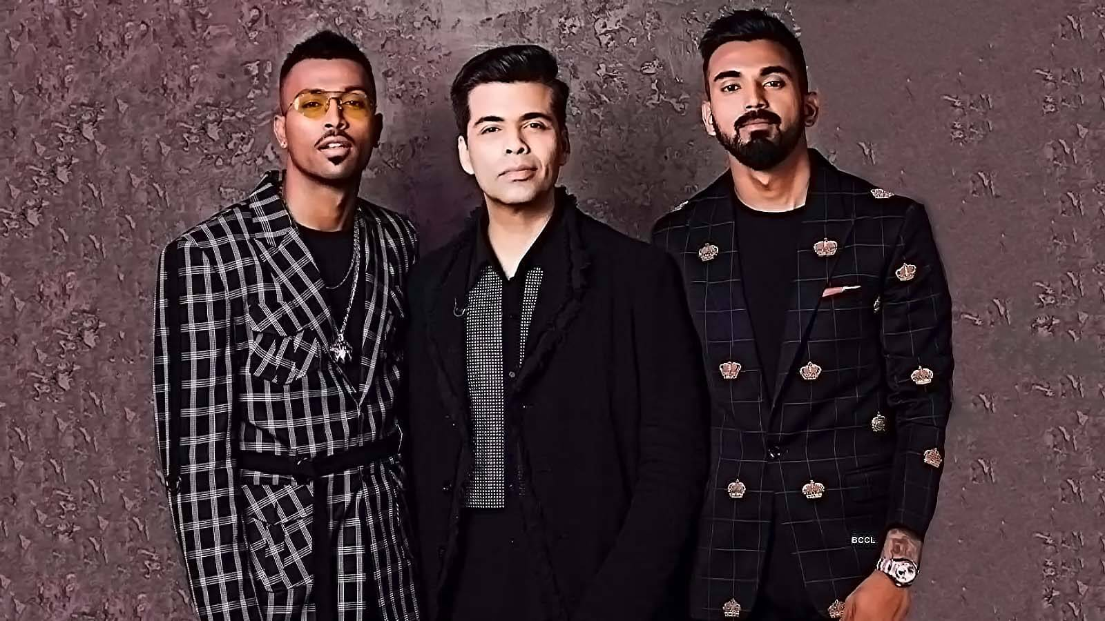 Koffee with Karan Hardik and KL Rahul