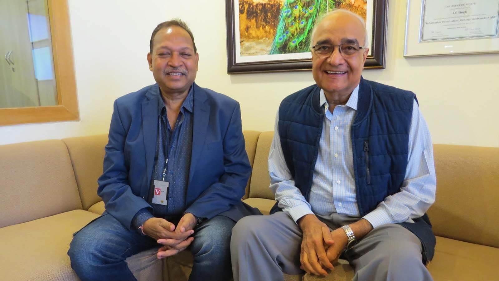 Om Katare & LC Singh (Nihilent)