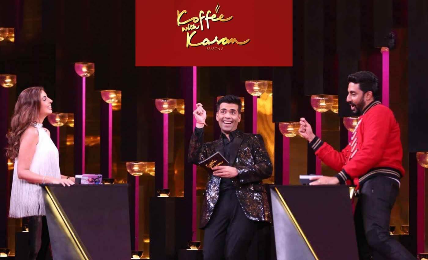Bachchan Siblings at Koffee with karan show