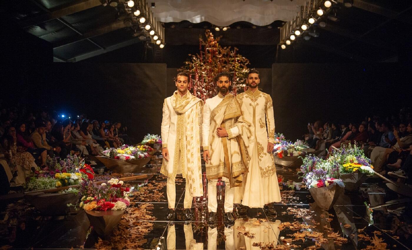 Rohit Bal at Lakme Fashion Week