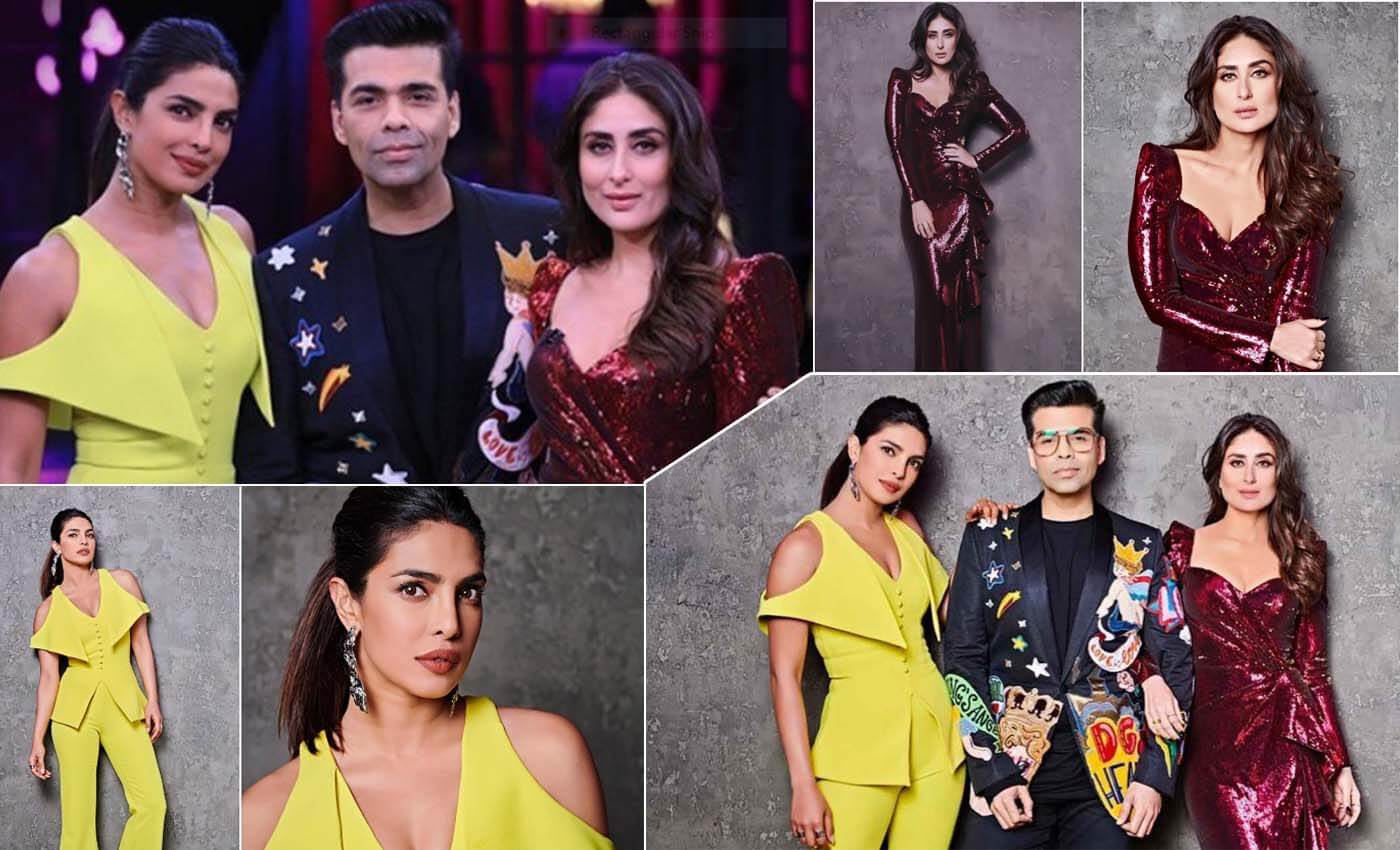 Koffee with karan with Priyanka Chopra and Kareenakapoor khan