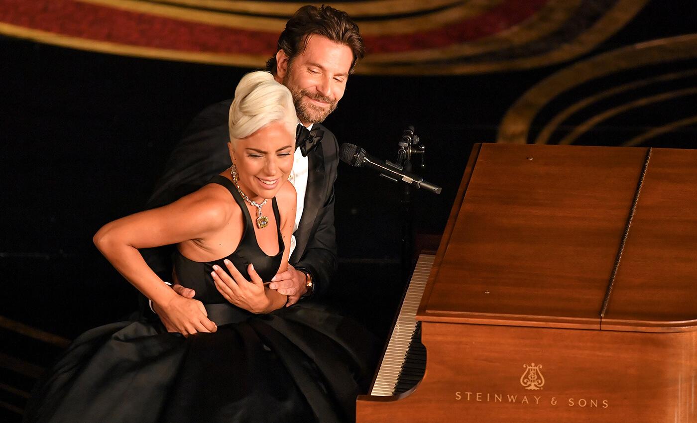 Lady Gaga and Bradley cooper at Oscars 2019