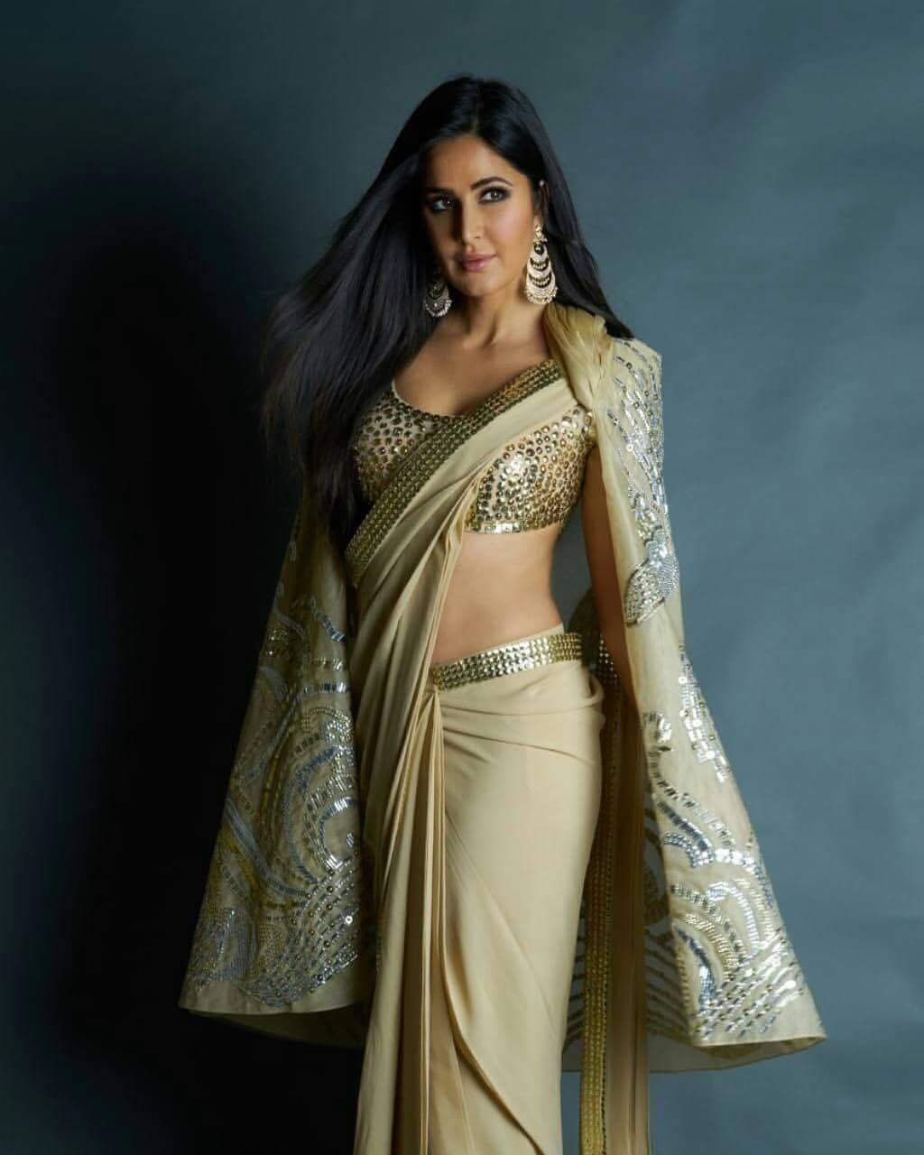 Celebrity Fashion | Saree and Jacket, Ever thought about 'em?