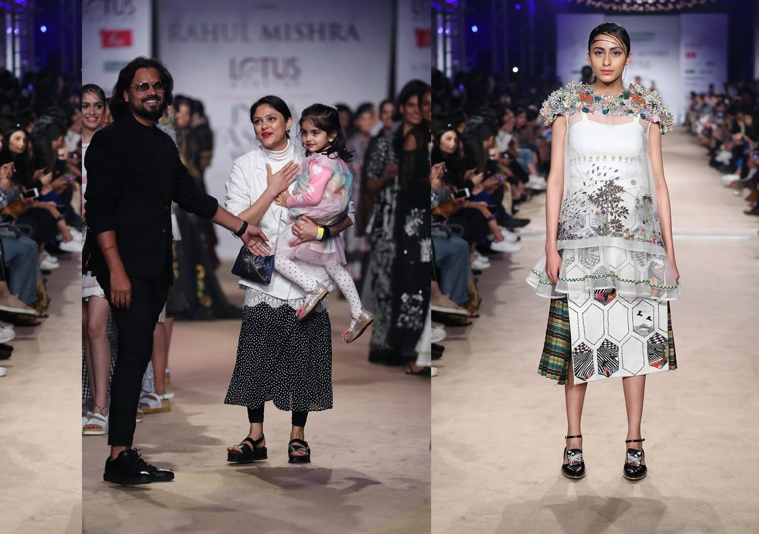 Rahul Mishra Collections at LMIFW2019