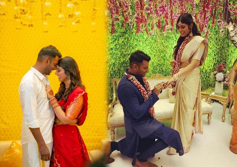 Vishal - Anisha Engagement