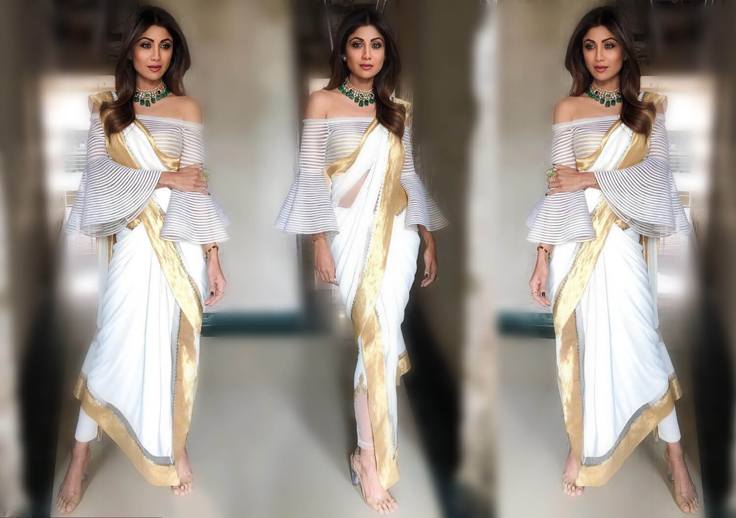 Celebs Show You How To Drape A Saree With Modern Pant Saree Style