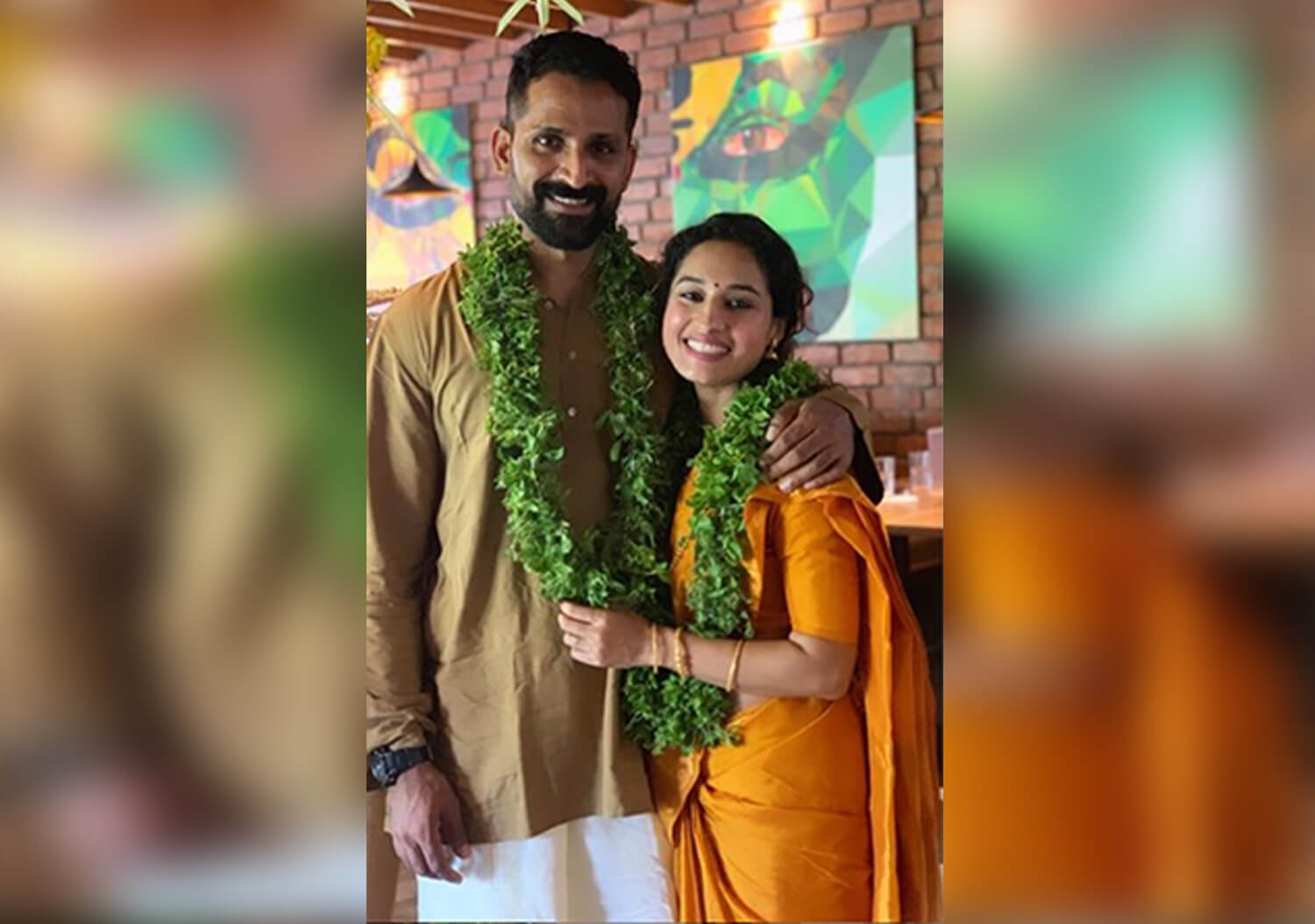 Image result for pooja ramachandran wedding