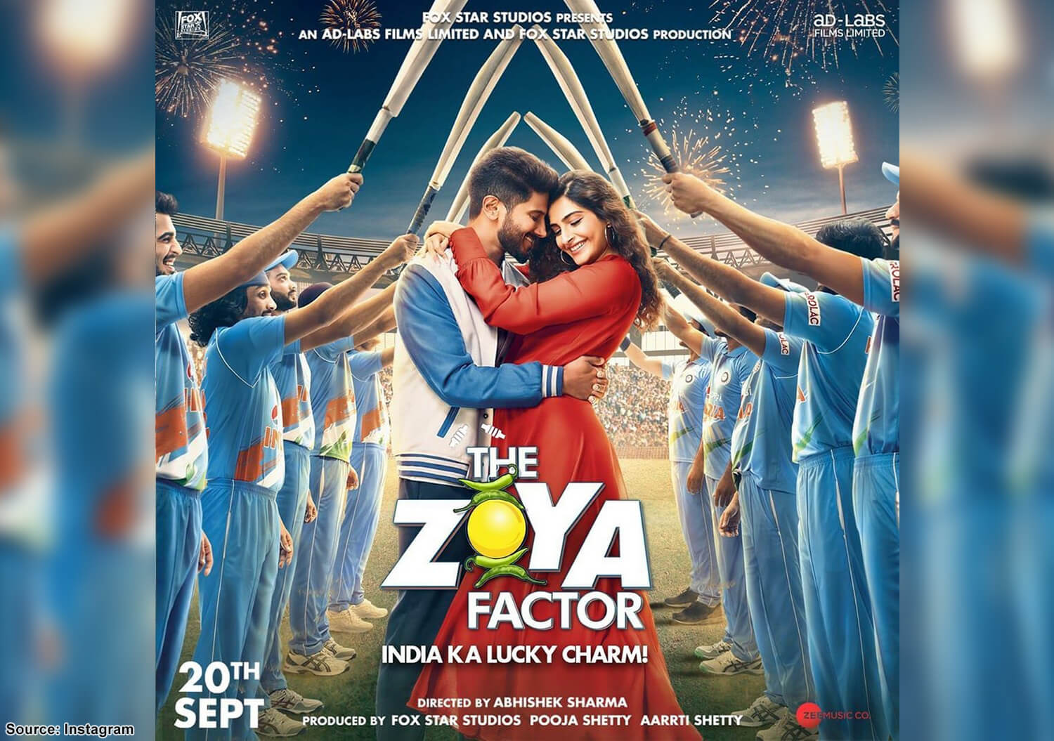 Meet Zoya 'Mata' spreading luck in 'The Zoya Factor' trailer