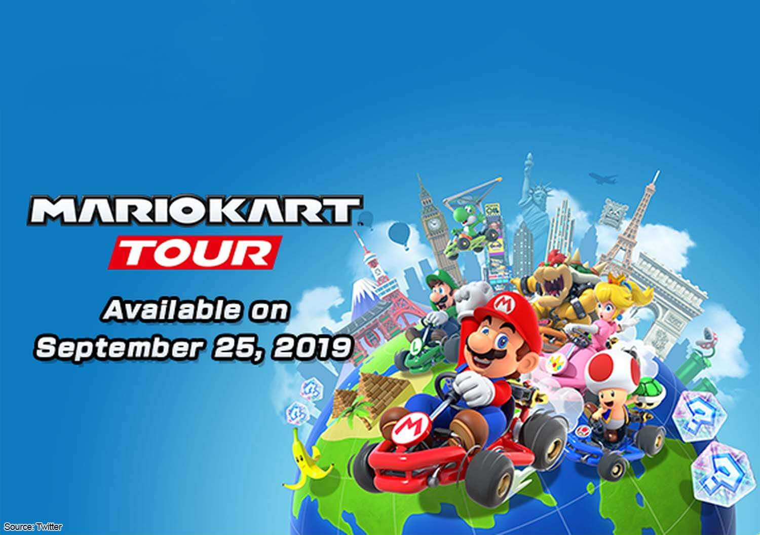 Nintendo officially announces Mario Kart Tour launching on September 25
