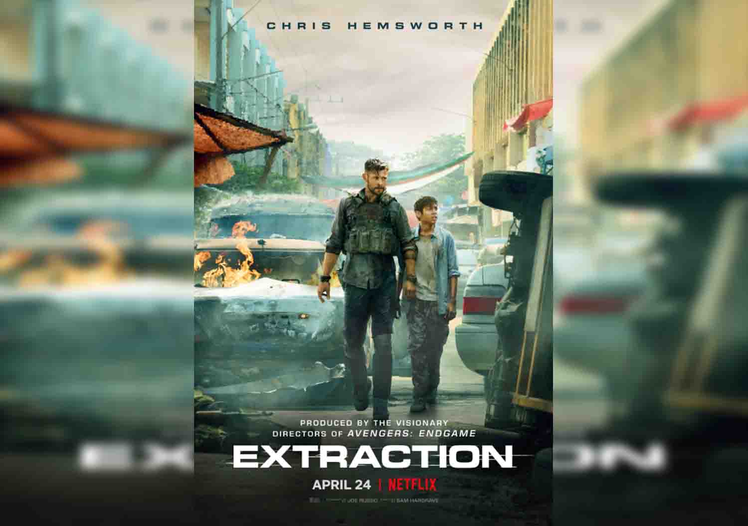 Netflix have released the action-packed trailer for their new movie Extraction