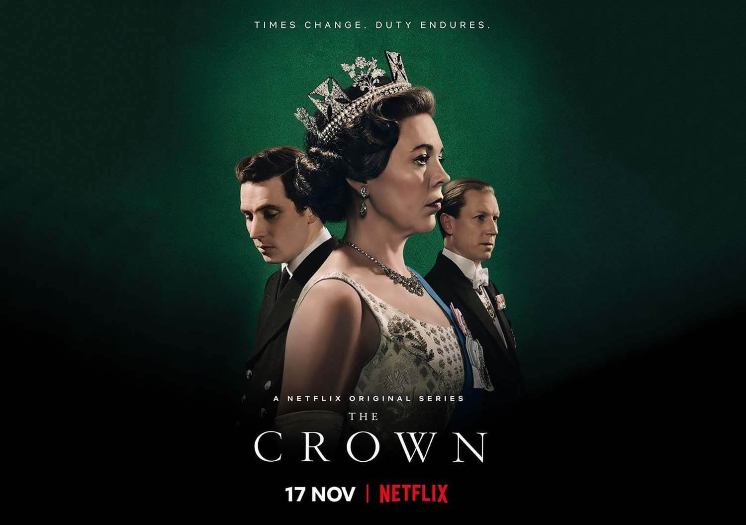 The Crown' Arrives On 15 November - Bold Outline : India's leading Online  Lifestyle, Fashion & Travel Magazine.