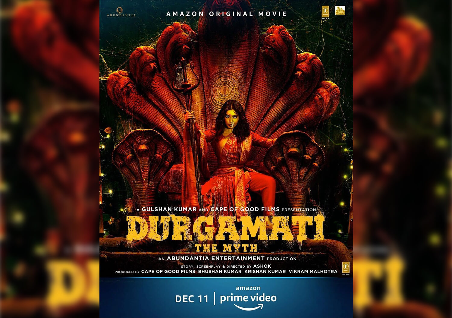 Bhumi Pednekar portrays 'horror' genre in 'Durgamati' trailer